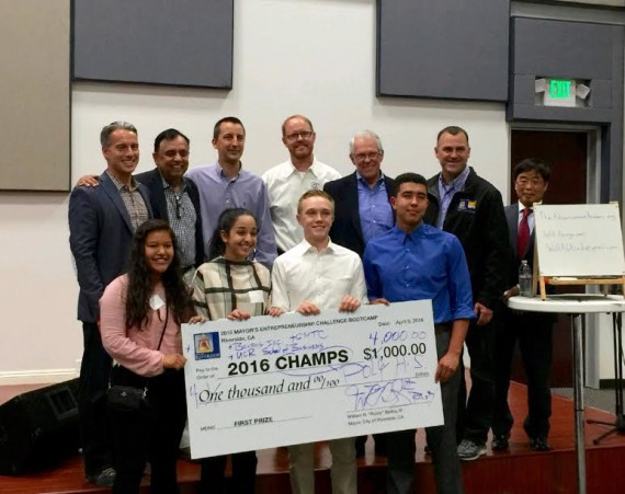 Poly students take first place in Riverside's first annual 2016 Mayor's Entrepreneurship Boot Camp