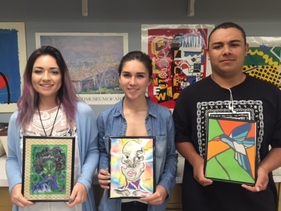 Art Design students showcase their artistic abilities