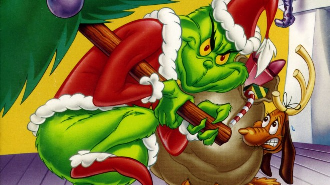 the grinch steals christmas again image - Grinch Stealing Christmas Lights