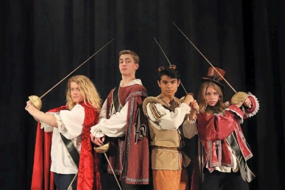 Poly's production of The Three Musketeers brings new elements to a classic play.