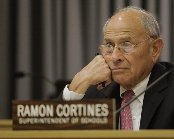 Retiring L.A. superintendent discusses traditional and charter school struggles